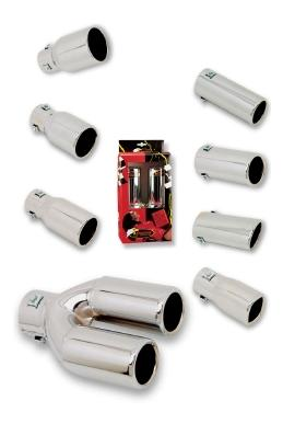 (Please Select) Tail Pipe Twin 70mm product image