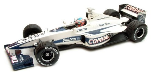 1:18 Scale Williams BMW 2000 Showcar FW22 - J.Button
