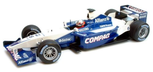 1:18 Scale Williams BMW FW23 Race Car 2001 - Juan Pablo Montoya