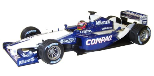 1:18 Scale Williams BMW FW24 Race Car 2002 - Juan Pablo Montoya