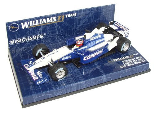 1:43 Minichamps Williams BMW 2002 Launch Car - Juan Pablo Montoya