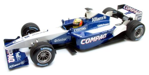 1:43 Minichamps Williams BMW 2002 Launch Car - Ralf Schumacher