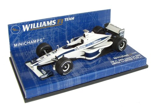 1:43 Minichamps Williams BMW FW21 Launch Car 2000- Ltd 1st Edition- 3-333 pcs - No Driver