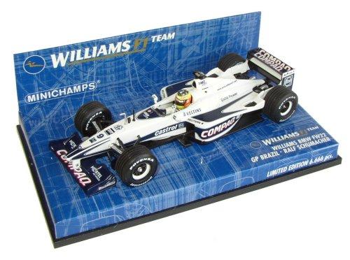 1:43 Minichamps Williams BMW FW22 Brazilian Race Car R.Schumacher Ltd Ed 6.666pcs