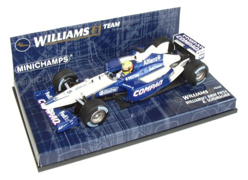 1:43 Minichamps Williams BMW FW24 Race Car 2002 - Ralf Schumacher