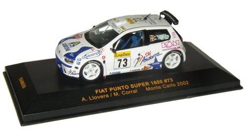 Fiat Punto 2002 Sport. 1:43 Scale Fiat Punto