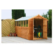 10 x 6 Apex Overlap Shed with installation product image