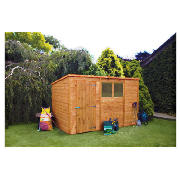 10 x 6 Pent Shiplap Shed with installation product image