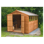 10 x 8 Apex Overlap Shed with installation product image