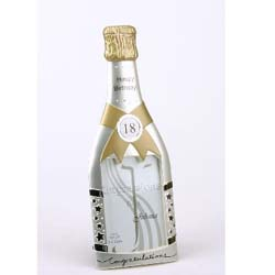 18th Birthday Champagne Bottle Frame product image