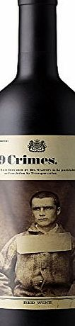 19 Crimes Australian Red Wine 75cl Bottle