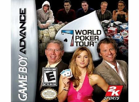 2K Games World Poker Tour GBA product image
