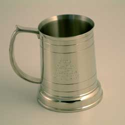 Age Pint Pewter Tankard 30th