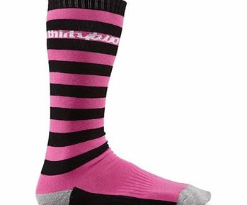 32 Thirty Two Cedar Rock Snowboard Socks - Pink product image