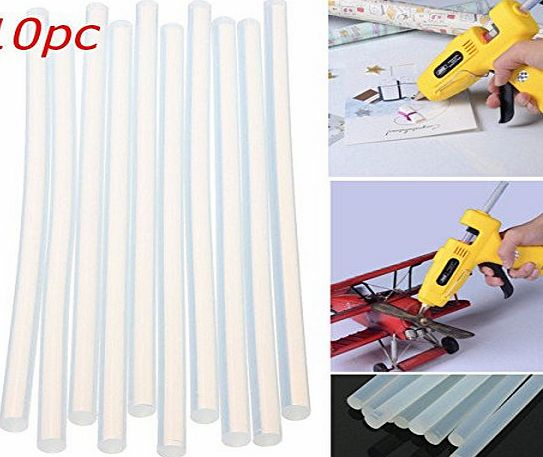 365 Saver Saver 10pcs 180mm x 7mm Hot Clear Melt Glue Adhesive Sticks For Glue Gun