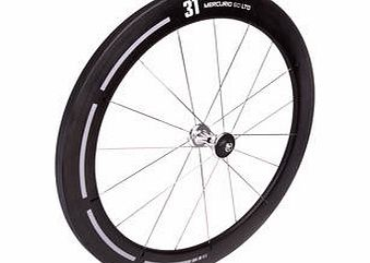 Mercurio 60 Ltd Carbon Tubular Front Wheel