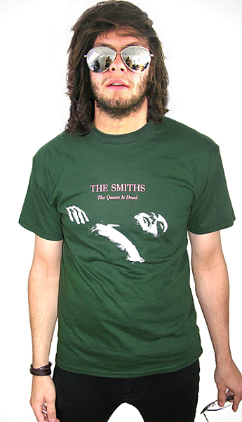 45 Hits The Smiths The Queen Is Dead T Shirt