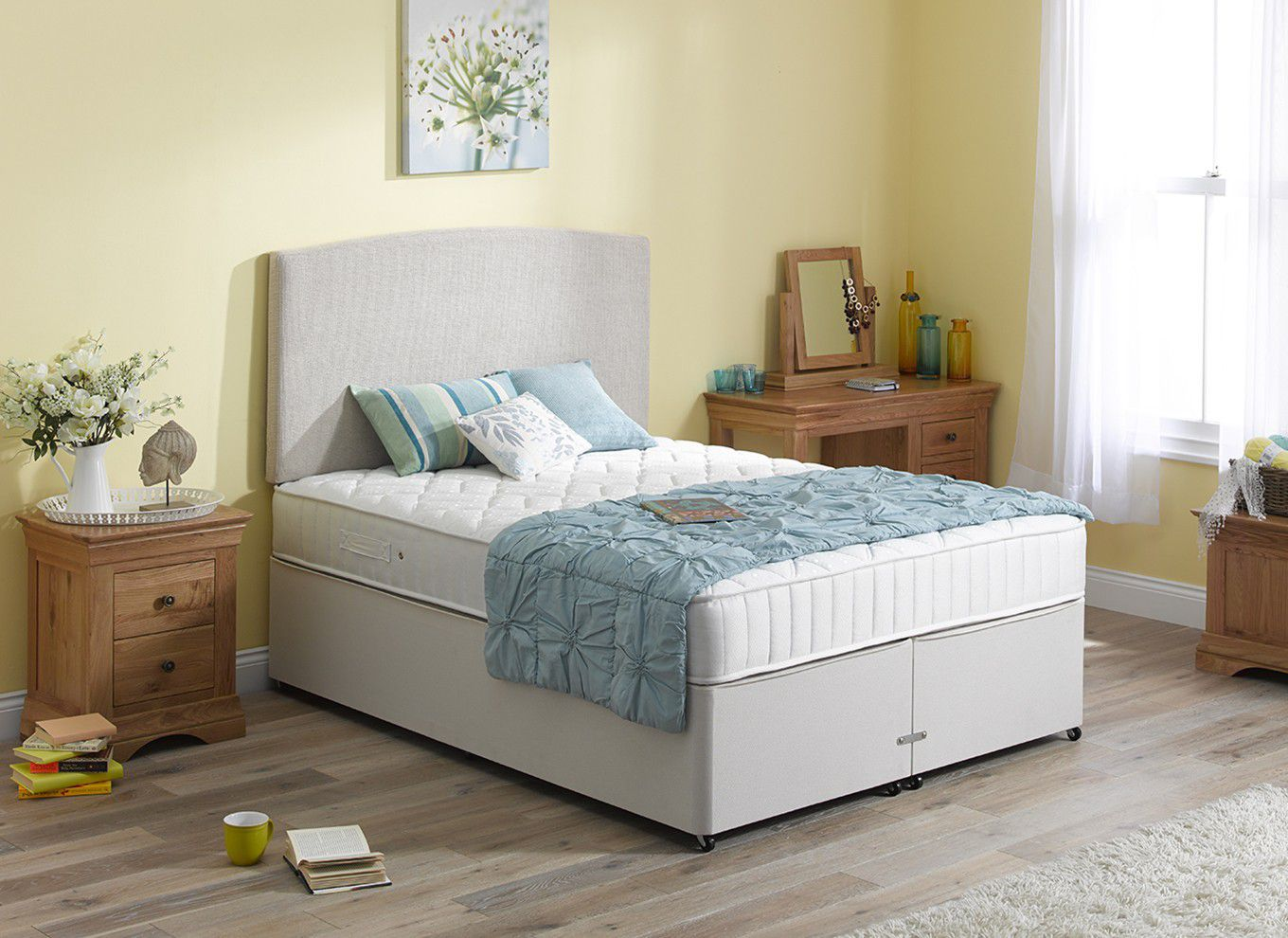 Orion double beds reviews for Double divan bed with firm mattress