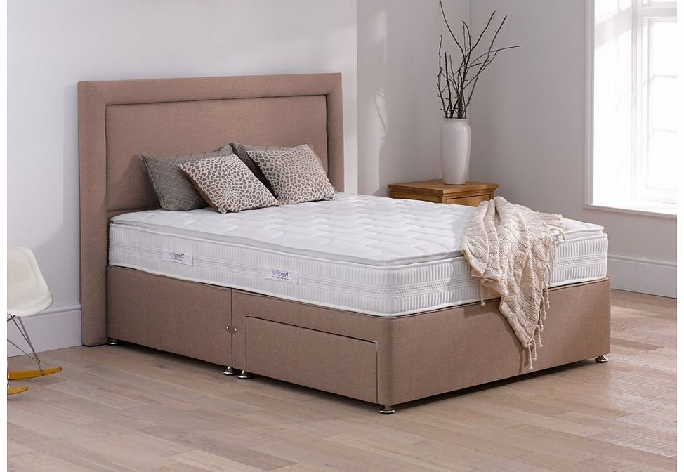 4 6 for Double divan bed with firm mattress