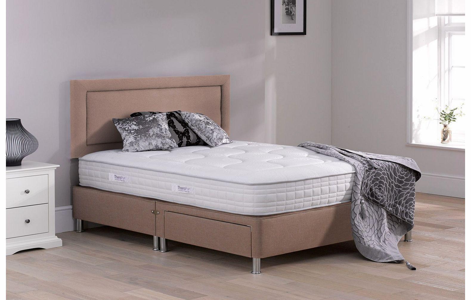 5 0 king divan beds for Divan with legs