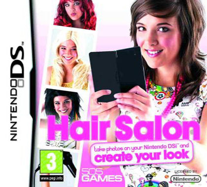 Hair Stylist Games on 505 Games Hair Salon Dsi Nintendo Ds Game   Review  Compare Prices