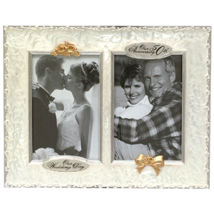 Anniversary Frame Then and Now