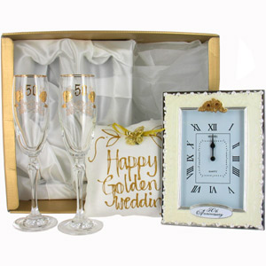 50th Golden Wedding Anniversary Gifts Pack 1review, compare prices ...