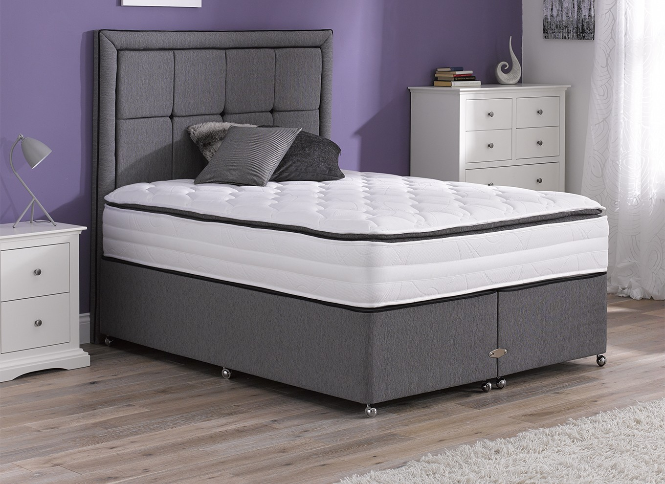 6 0 super king divan beds for Super king divan bed