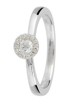 9ct Gold 0.50ct Brilliant Cut Diamond Ring