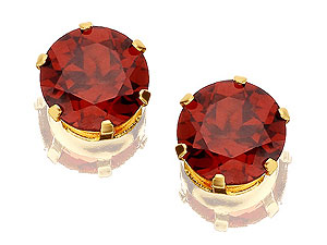 and Garnet Earrings 070858