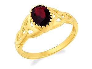 and Garnet Ring 180318-P
