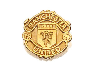 Manchester United Crest Single Earring