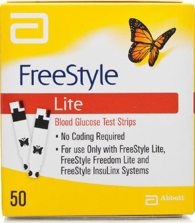 Abbott Diabetes Care, 2102[^]0009388 Freestyle Lite Testing Strips