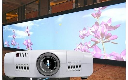 ABIS 10000 ANSI Lumens Projector Full HD 3LCD Projector for Theater, Big Conference Rooms, Outdoor Use