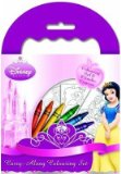 ABL Disney Princess Carry-along Colouring Set (Paperback)