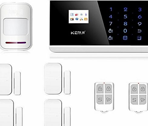 ABTO Wireless Android IOS APP GSM Home Security Alarm System DIY Kit with Auto Dial