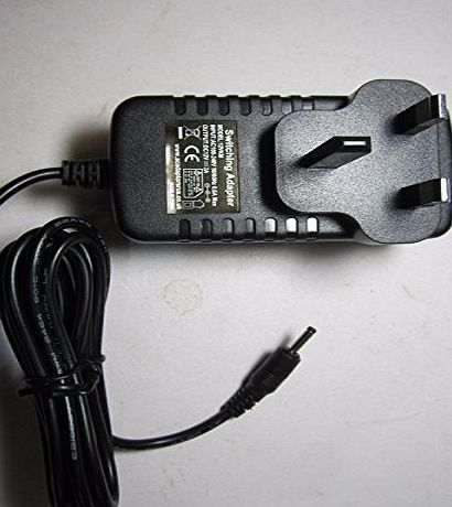 ACAdaptorsRUS 12V Mains AC-DC Adaptor Power Supply Philips PicoPix Pico Pix PPX2480 Projector