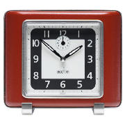 Mayfair Retro Clock Red