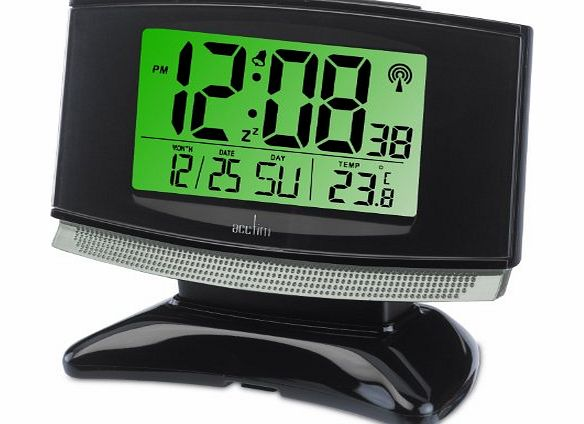 acctim radio controlled alarm clock review compare prices buy online. Black Bedroom Furniture Sets. Home Design Ideas