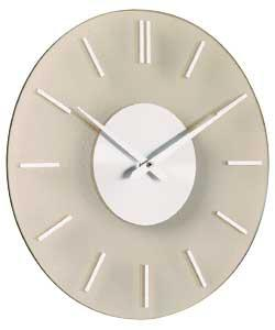 Acctim Glass Wall Clock