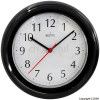 Acctim Wycombe 8.5` Black Plastic Wall Clock product image