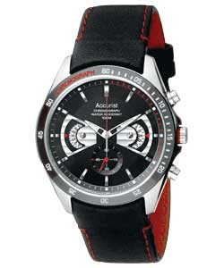 accurist watches reviews gents chronograph rotating disc watch accurist