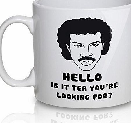 Acen ``Hello, is It Tea You are Looking For?`` Ceramic Mug, White, 11 oz