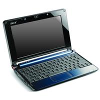 Acer Aspire 1 A150 blue Atom N270 1.6Ghz 512MB 120GB 8.9 screen camera XP Home 1 yr manufacturer` warrant