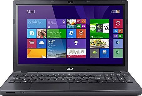 Acer Aspire E5-511 15.6-inch Notebook (Black) - (Intel Celeron N2830 2.16GHz, 4GB RAM, 500GB HDD, DVDSM DL, WLAN, Bluetooth, Webcam, Integrated Graphics, Windows 8.1)