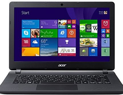 Acer Aspire ES1-311 13.3-inch Notebook (Black) - (Intel Celeron N2840 2.16GHz, 4GB RAM, 1TB HDD, Integrat