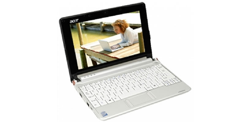Acer Aspire One AOA110-AGw -1GB-16GB - White -