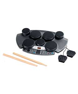 acoustic solutions portable lcd drum kit review compare prices buy online. Black Bedroom Furniture Sets. Home Design Ideas