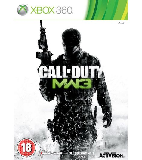 Activision Call of Duty Modern Warfare 3 Xbox 360