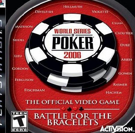 World Series Of Poker 2008 Battle For The Bracelets Xbox 360 World
